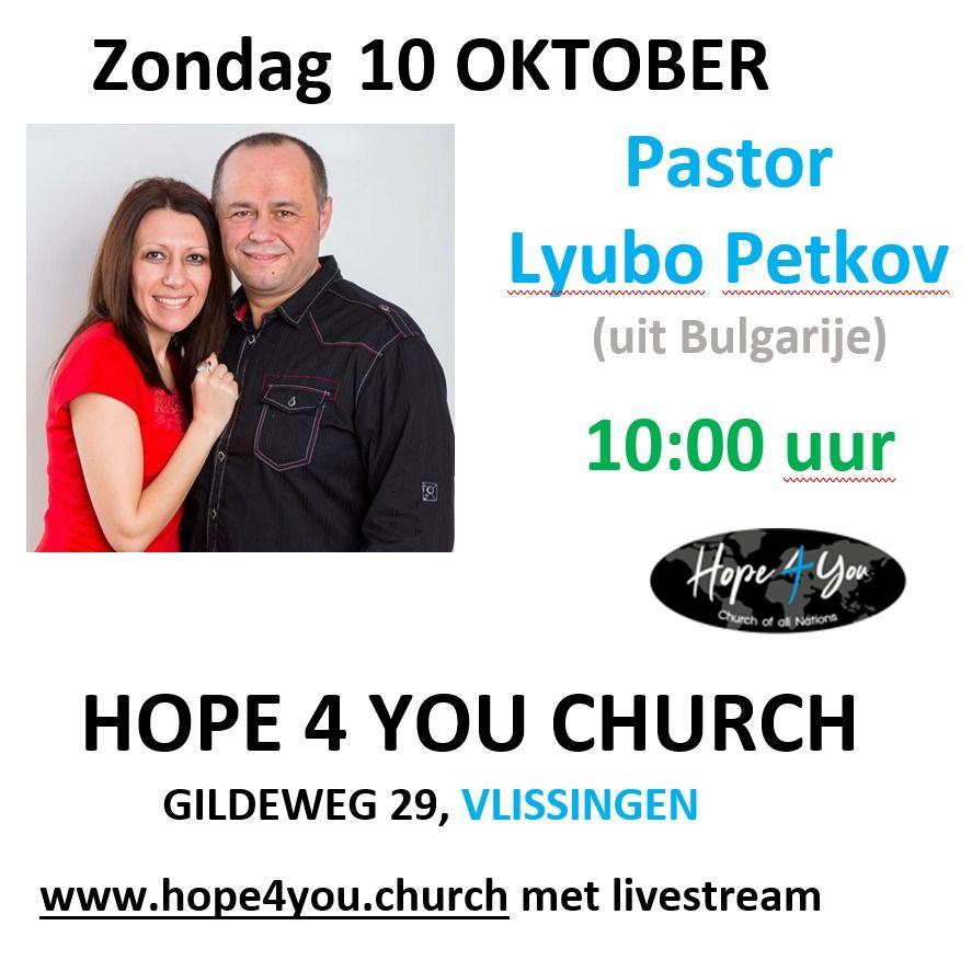 Samenkomst / Livestream met Lyubo Petkov (C3 gemeente, Bulgarije)